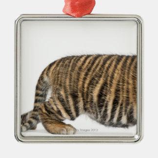 Sumatranの虎の子-ヒョウ属のチグリス川のsumatrae (3 メタルオーナメント