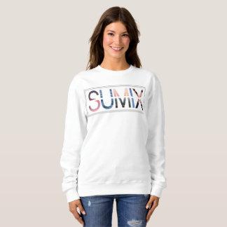 Sumixのロゴのセーター スウェットシャツ