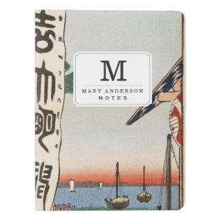 Sumiyoshiのフェスティバル、Tsukudajima. エクストララージMoleskineノートブック