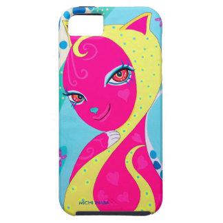 Summer Cat GIRAKO iPhone SE/5/5s ケース