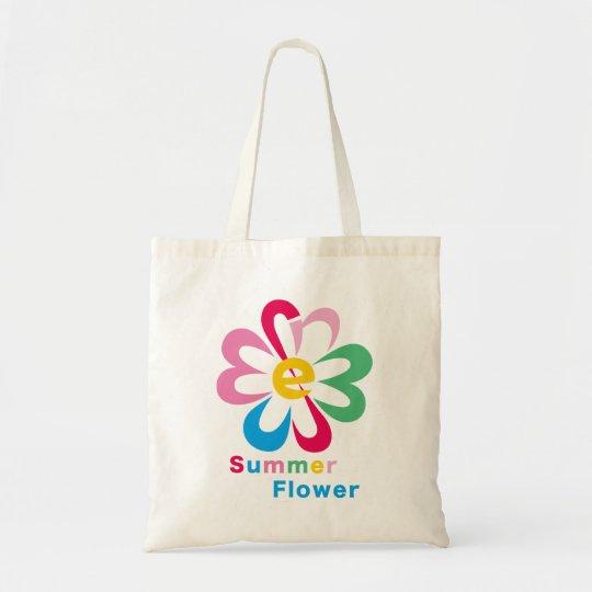 Summer Flower トートバッグ