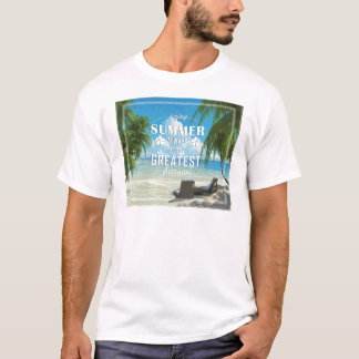 Summer time tシャツ
