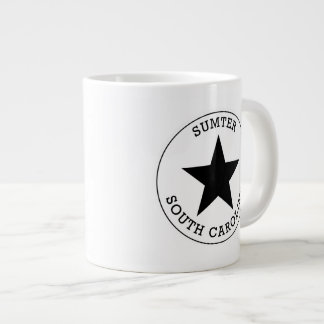 Sumterサウスカロライナ ジャンボコーヒーマグカップ