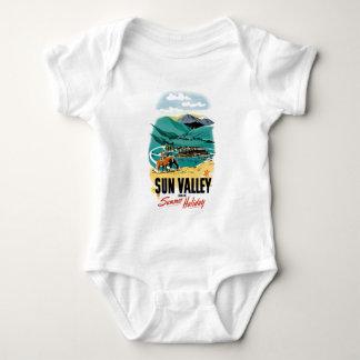 Sun Valleyの夏季休暇 ベビーボディスーツ