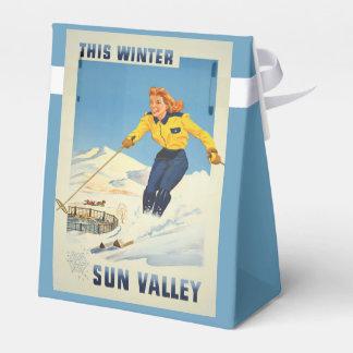 Sun Valley、アイダホのヴィンテージ旅行好意箱 フェイバーボックス
