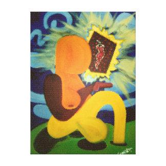 Sunbatherのファインアート キャンバスプリント