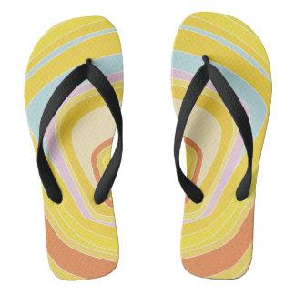 #Sundayビーチの明るい黄色 ビーチサンダル