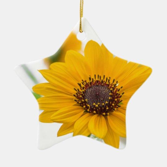 sunflower in midsummer セラミックオーナメント