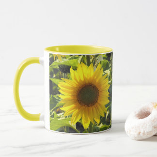 Sunflower Morning Mug マグカップ