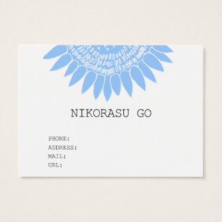 sunflower pointcard チャビ―名刺