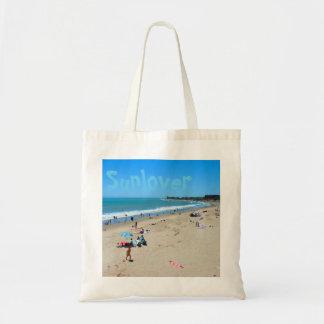 Sunloverのビーチのバッグ トートバッグ