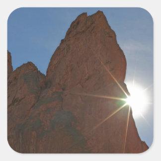 Sunraysおよび砂岩 スクエアシール