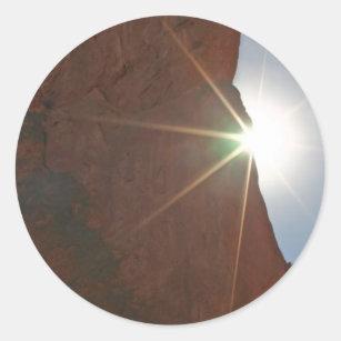 Sunraysおよび砂岩 ラウンドシール
