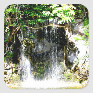 Sunreflectedの滝 スクエアシール
