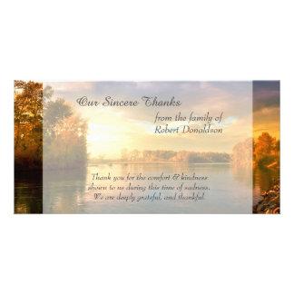 sunrise湖の悔やみや弔慰は感謝していしています カード