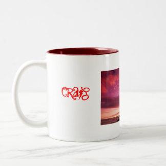Sunset_Islandのschaber、クレイグ ツートーンマグカップ