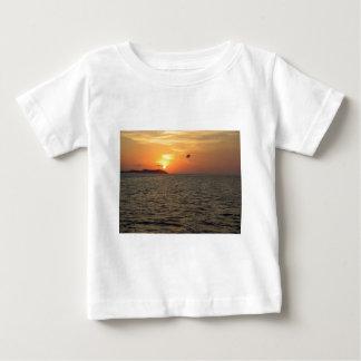 Sunset.JPGのParaglider ベビーTシャツ