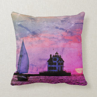 Sunset Sail Dream Pillow クッション
