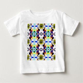 Sunshipパターン ベビーTシャツ