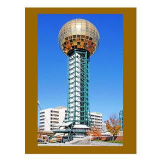 Sunsphere - Knoxville、テネシー州、米国 ポストカード