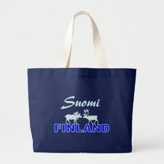 Suomiフィンランドのバッグ ラージトートバッグ