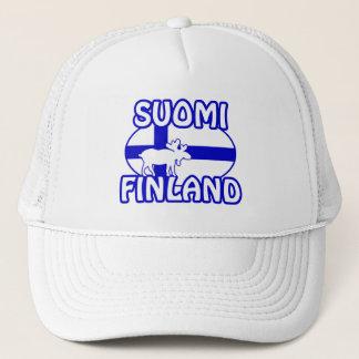 Suomiフィンランドの帽子 キャップ