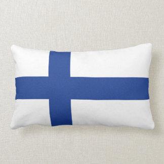 SUOMIフィンランドの旗の枕 ランバークッション