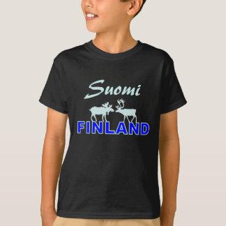 SuomiフィンランドのTシャツ Tシャツ