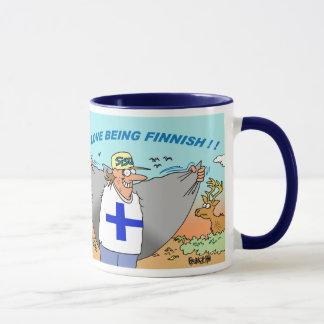 SUOMI %PIPE% SUOMALAINEN %PIPE%フィンランドの%PIPE%フィンランド マグカップ