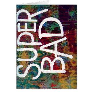SuperBad カード