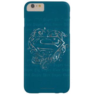 Supergirlによってすごいはえによってすごいかわいい Barely There iPhone 6 Plus ケース