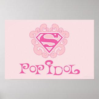 Supergirlのアイドル歌手 ポスター