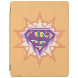 Supergirlのオレンジのスターバスト iPadスマートカバー