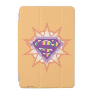 Supergirlのオレンジのスターバスト iPad Miniカバー