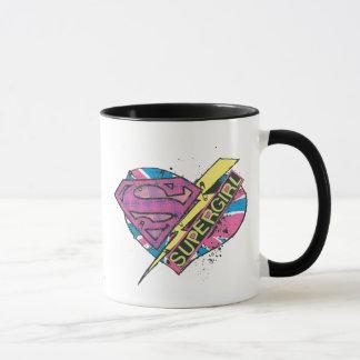 Supergirlのハートおよびボルト マグカップ