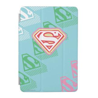 Supergirlのパステル調の繰り返しパターン iPad Miniカバー
