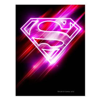 Supergirlのピンク ポストカード