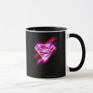 Supergirlのピンク マグカップ