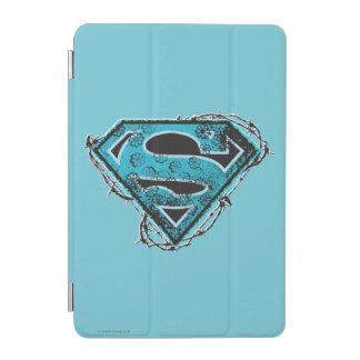 Supergirlのロゴの有刺鉄線および花 iPad Miniカバー