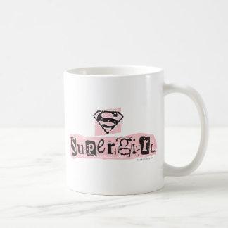 Supergirlのロゴの身代金ノート コーヒーマグカップ