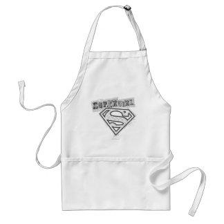 Supergirlのロゴ1 スタンダードエプロン
