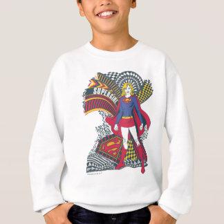 Supergirlの任意世界1 スウェットシャツ