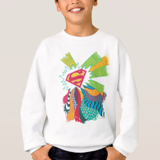 Supergirlの任意世界3 スウェットシャツ