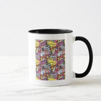 Supergirlの喜劇的なケーパーパターン4 マグカップ