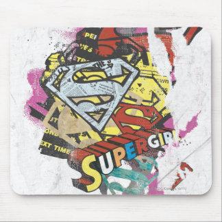 Supergirlの喜劇的なケーパー4 マウスパッド