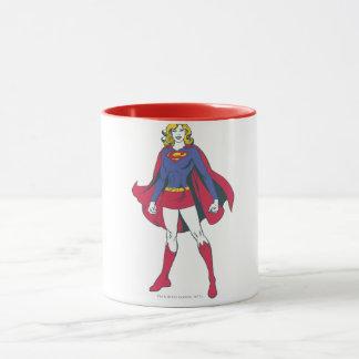Supergirlの姿勢2 マグカップ