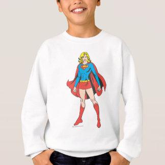 Supergirlの姿勢5 スウェットシャツ