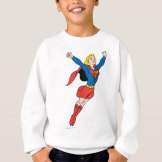 Supergirlの姿勢6 スウェットシャツ
