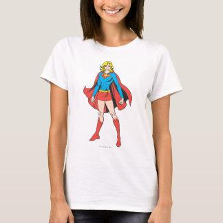 Supergirlの姿勢 Tシャツ