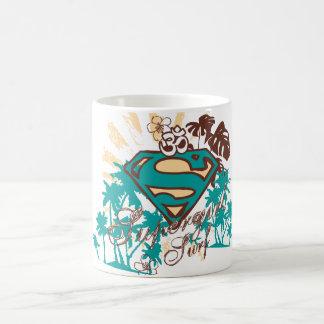 Supergirlの波 コーヒーマグカップ